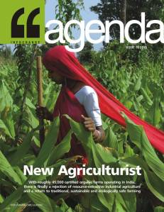 Infochange Agenda journal on New Agriculture, cover