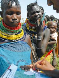 UN Millennium Development Goals Report 2010 / UNICEF Photo