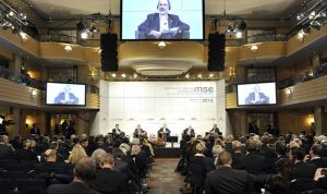 The Munich Security Conference 2013 in session,